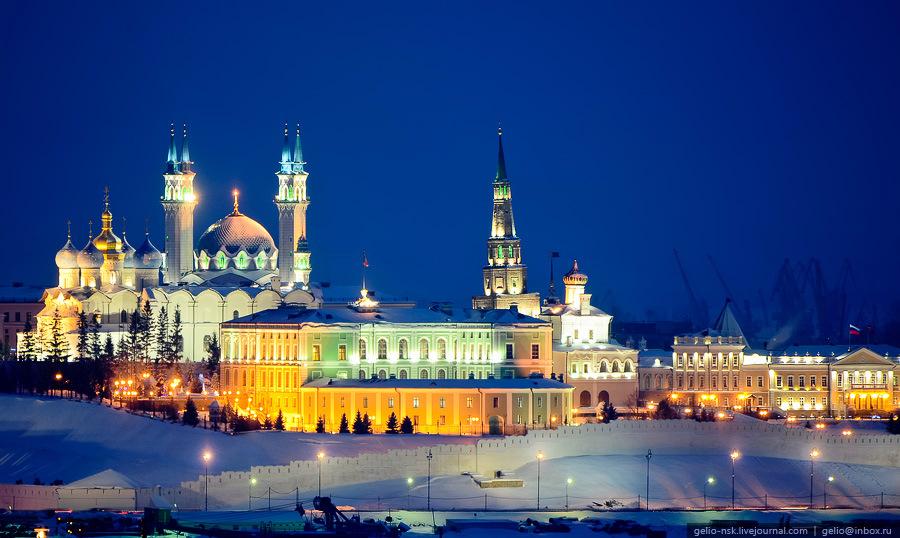 Казань угодила втоп-5 городов РФ для путешествий наНовый год