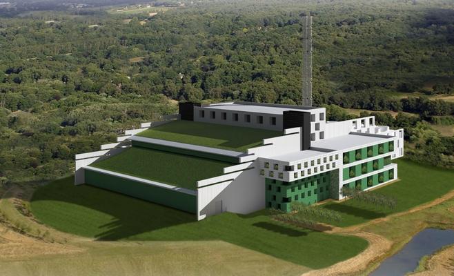 Проектная часть мусоросжигательного завода вКазани нануле— Генподрядчик