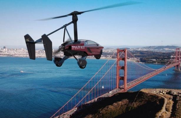 Компания PAL-V выпустила партию летающих авто Liberty