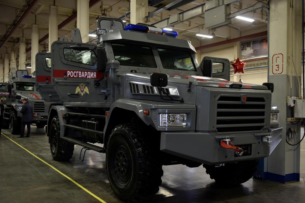 Росгвардия получит 10 новых бронеавтомобилей «Патруль»